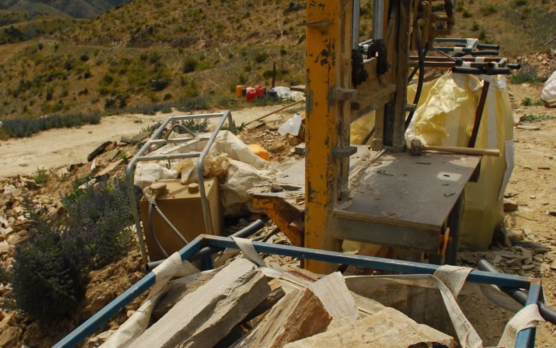 Lindis Schist Quarry Splitter