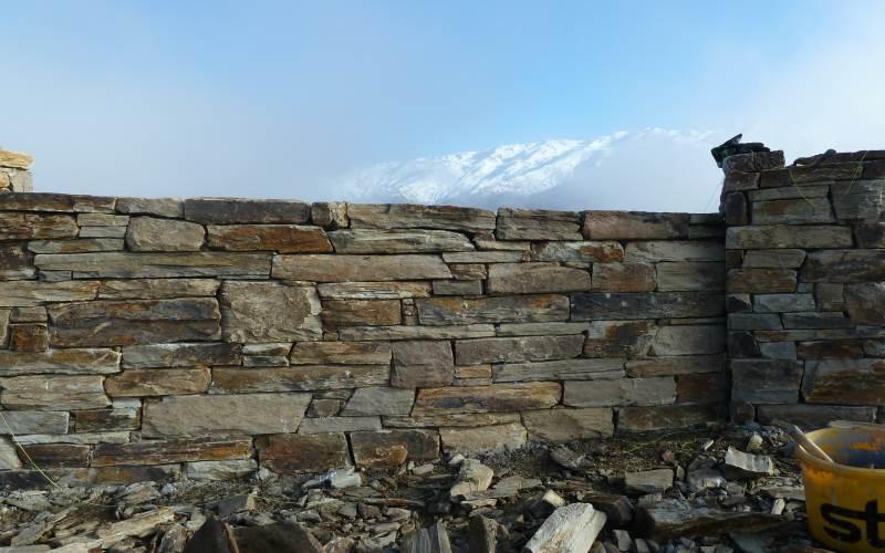Schist Wall