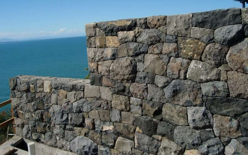 Port hills stone tight random rubble