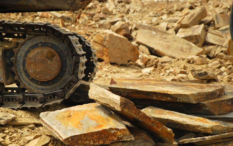 Lindis Schist Quarry Digger